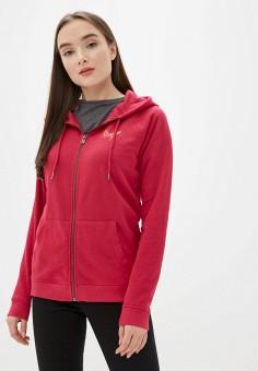 Толстовка, Roxy, цвет: розовый. Артикул: RO165EWIJJF2.