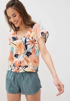 Блуза, Roxy, цвет: мультиколор. Артикул: RO165EWIJJG3.