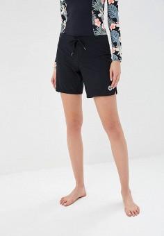 Шорты для плавания, Roxy, цвет: черный. Артикул: RO165EWPFM95.