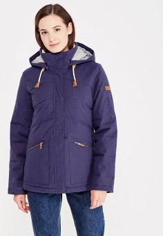 Куртка утепленная, Roxy, цвет: синий. Артикул: RO165EWVOH27.
