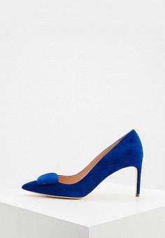 Туфли, Rupert Sanderson, цвет: синий. Артикул: RU020AWJRPO5. Обувь / Туфли / Лодочки