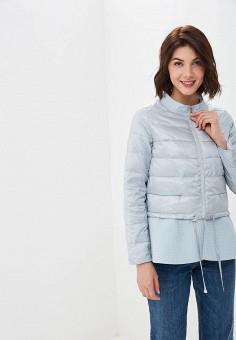 Куртка утепленная, Savage, цвет: голубой. Артикул: SA004EWEHLW0. Одежда / Верхняя одежда / Демисезонные куртки