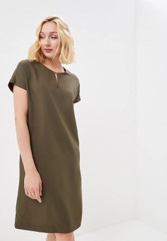 Платье, Savage, цвет: хаки. Артикул: SA004EWEHNB2.