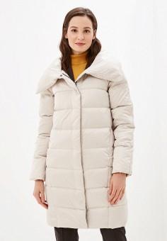 Пуховик, Savage, цвет: белый. Артикул: SA004EWGESB6. Одежда / Верхняя одежда / Пуховики и зимние куртки / Пуховики