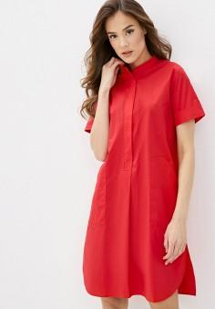 Платье, Savage, цвет: красный. Артикул: SA004EWIYFV4.