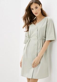 Платье, Savage, цвет: серый. Артикул: SA004EWIYFW0.