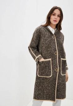 Кардиган, Savage, цвет: коричневый. Артикул: SA004EWIYGB0. Одежда / Джемперы, свитеры и кардиганы / Кардиганы