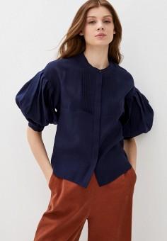 Блуза, Savage, цвет: синий. Артикул: SA004EWIYGB3. Одежда / Блузы и рубашки