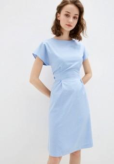 Платье, Savage, цвет: голубой. Артикул: SA004EWIYGN2. Одежда / Платья и сарафаны / Повседневные платья
