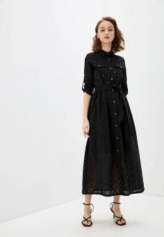 Платье, Savage, цвет: черный. Артикул: SA004EWIYGN3. Одежда / Платья и сарафаны