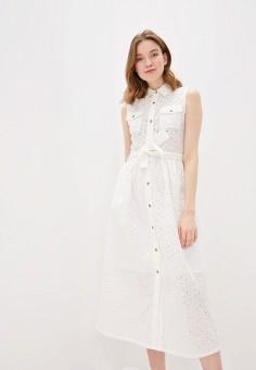 Платье, Savage, цвет: белый. Артикул: SA004EWIYGN9.