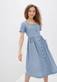 Платье, Savage, цвет: голубой. Артикул: SA004EWIYGO8.