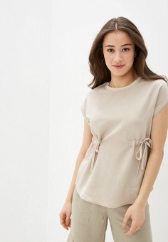 Блуза, Savage, цвет: бежевый. Артикул: SA004EWIYGS3.