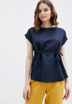 Блуза, Savage, цвет: синий. Артикул: SA004EWIYGS4.