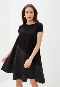 Платье, Savage, цвет: черный. Артикул: SA004EWIYGU1.
