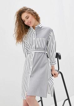 Платье, Savage, цвет: белый. Артикул: SA004EWIYGU3.