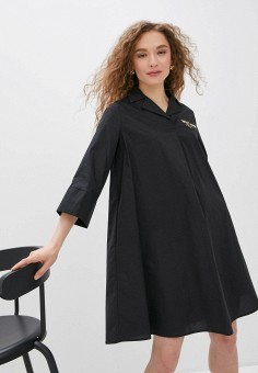 Платье, Savage, цвет: черный. Артикул: SA004EWIYGU4.