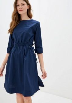Платье, Savage, цвет: синий. Артикул: SA004EWIYGV2.