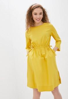 Платье, Savage, цвет: желтый. Артикул: SA004EWIYGV3.