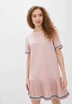 Платье, Savage, цвет: розовый. Артикул: SA004EWIYGW0.