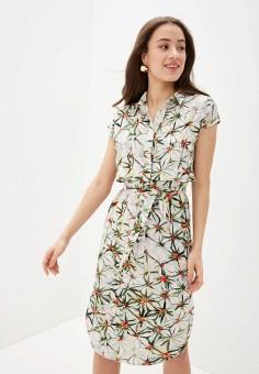 Платье, Savage, цвет: белый. Артикул: SA004EWIYGX1.