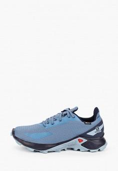 Кроссовки, Salomon, цвет: голубой. Артикул: SA007ABJOMZ1.