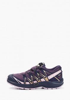 Кроссовки, Salomon, цвет: фиолетовый. Артикул: SA007AGJOMY3.