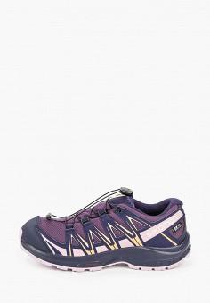 Кроссовки, Salomon, цвет: фиолетовый. Артикул: SA007AGKIUW1.