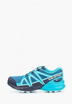 Кроссовки, Salomon, цвет: синий. Артикул: SA007AKFOUG2.