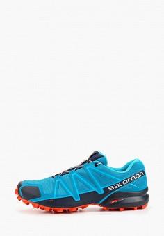 Кроссовки, Salomon, цвет: синий. Артикул: SA007AMFOVH6.