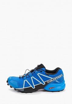 Кроссовки, Salomon, цвет: синий. Артикул: SA007AMFOVJ1.