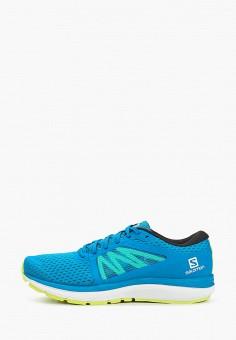 Кроссовки, Salomon, цвет: голубой. Артикул: SA007AMHQYG7.
