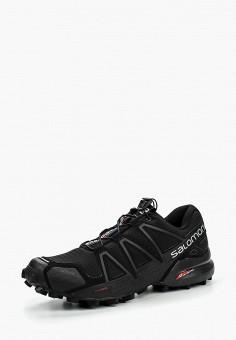 Кроссовки, Salomon, цвет: черный. Артикул: SA007AMJJK89. Обувь
