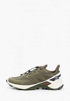 Кроссовки, Salomon, цвет: хаки. Артикул: SA007AMJONW6. Обувь / Кроссовки и кеды / Кроссовки