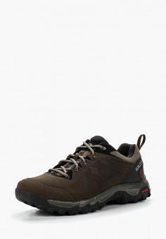 Ботинки трекинговые, Salomon, цвет: коричневый. Артикул: SA007AMUHK49.