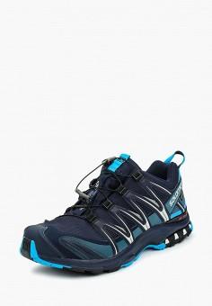 Кроссовки, Salomon, цвет: синий. Артикул: SA007AMUHK65.