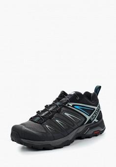 Ботинки трекинговые, Salomon, цвет: черный. Артикул: SA007AMZOS84. Обувь / Ботинки
