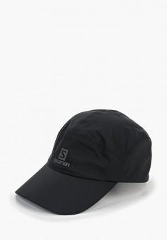 Бейсболка, Salomon, цвет: черный. Артикул: SA007CUDSMQ1. Аксессуары / Головные уборы