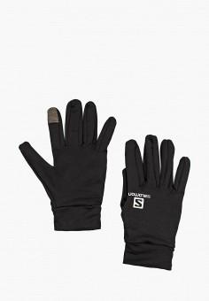 Перчатки, Salomon, цвет: черный. Артикул: SA007DUJJK49. Аксессуары / Перчатки и варежки