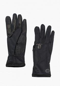 Перчатки, Salomon, цвет: черный. Артикул: SA007DUJONO3. Аксессуары / Перчатки и варежки