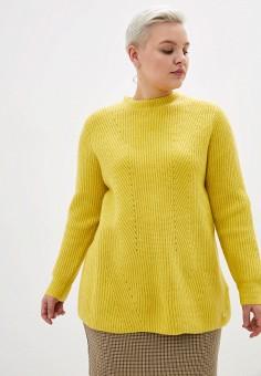 Джемпер, Samoon by Gerry Weber, цвет: желтый. Артикул: SA037EWGEHT1. Одежда / Джемперы, свитеры и кардиганы / Джемперы и пуловеры / Джемперы