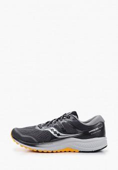 Кроссовки, Saucony, цвет: серый. Артикул: SA219AMJYMU2. Обувь / Кроссовки и кеды