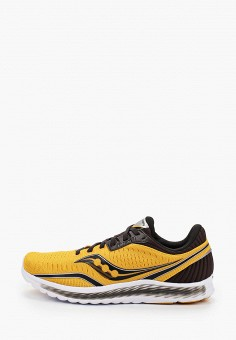 Кроссовки, Saucony, цвет: желтый. Артикул: SA219AMJYMV2. Обувь