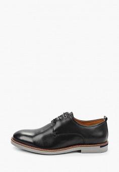 Туфли, Salamander, цвет: черный. Артикул: SA815AMHLYA2.
