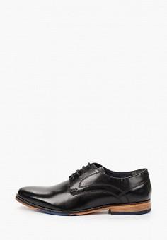 Туфли, Salamander, цвет: черный. Артикул: SA815AMHLYB4.