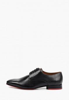 Туфли, Salamander, цвет: черный. Артикул: SA815AMHLYB7.
