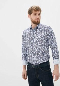 Рубашка, Sand, цвет: голубой. Артикул: SA915EMHLJT6. Одежда / Рубашки / Рубашки с длинным рукавом