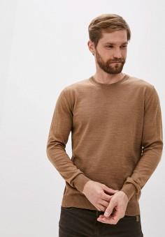 Джемпер, Sand, цвет: коричневый. Артикул: SA915EMJVFL9. Одежда / Джемперы, свитеры и кардиганы / Джемперы и пуловеры
