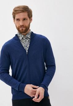 Кардиган, Sand, цвет: синий. Артикул: SA915EMJVFM1. Одежда / Джемперы, свитеры и кардиганы / Кардиганы