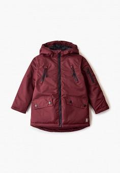 Куртка утепленная, Sela, цвет: бордовый. Артикул: SE001EBGAKT1. Мальчикам / Одежда / Верхняя одежда / Куртки и пуховики